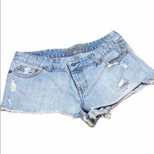 American Eagle recessed cutoff Jean Shorts